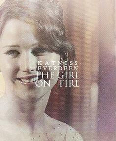 Katniss Everdeen. The Girl On Fire.