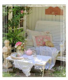 Peaceful sitting... Cindy Ellis... Gardens
