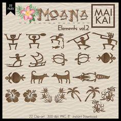 Moana Clipart Moana Symbol Maui Tattoo Moana Invitation Moana Birthday Hawaii Symbol Vaiana Clipart Instant Download