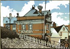 Limited Edition Prints by Linocut Artist Ian Phillips