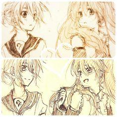 Len y Miku