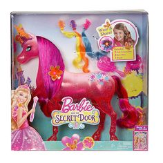 "Barbie and The Secret Door Pink Unicorn Doll - Mattel Girls - Toys ""R"" Us"