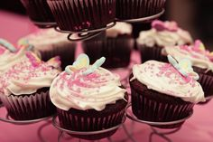 Baby Girl Cupcakes for baby shower