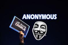 Anonymous ataca una web Yihadista como respuesta al atentado de Charlie Hebdo