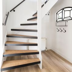 Inventive Staircase Design Tips for the Home – Voyage Afield Open Trap, House Stairs, Loft Stairs, Staircase Design, Staircase Ideas, Industrial House, Open Stairs, Fixer Upper, Home And Living