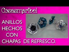 Crea anillos con chapas de latas de refrescos.RECICLAJE - YouTube