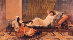 A New Light in the Harem (1884), Frederick Goodall