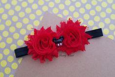 Red headband. Mickey mouse headband. Mickey by SofiasBeautyCloset