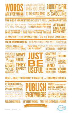 Empfehlungen für guten Content --- Advise for great Content #contentmarketing