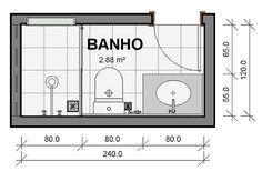 No nosso último post falamos sobre banheiros para casais. Agora vamos tratar dos banheiros singles, aqueles com um chuveiro, uma bacia sanitária, uma cuba