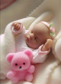 January 2012 Tiny OOAK Baby Girl