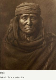 Eskadi, of the Apache tribe