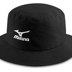 df2c0a168c8 Mizuno Hat Waterproof - Men s Golf Cap (Polyester) Color  Black Size  S M