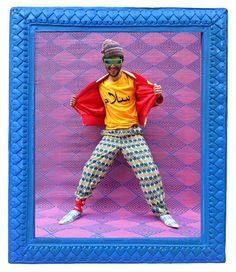 the photographer remixing louis vuitton with traditional african garb | Photography Hassan Hajjaj