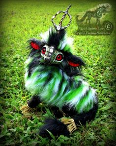 -SOLD-Hand Made Poseable Baby Forest Unicorn! by Wood-Splitter-Lee on deviantART