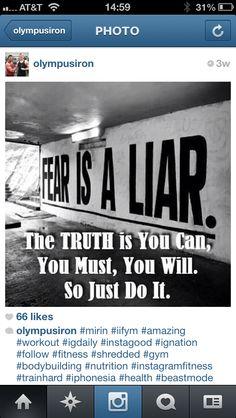 Fear....