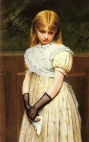 Charles Sillem Lidderdale - Petulance -the gloves so genius Amazing Paintings, Old Paintings, Victorian Art, Classical Art, Poses, Vintage Images, Art History, Art For Kids, Art Children