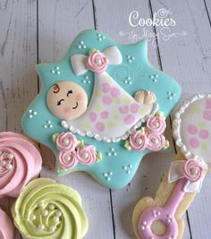 Sweet Baby | Cookies by Missy Sue | Cookie Connection