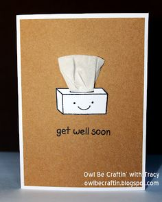 Owl Be Craftin`: Get Well Soon ~ With Lawn Fawn