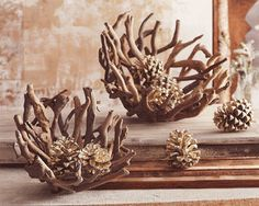 Driftwood Home Accessories | Coastal Decor Ideas, Nautical & Beach Decorating & Crafts: Roost Home ...
