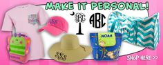 Personalized Items. Palmetto Traditions - Southern Fashion Trends