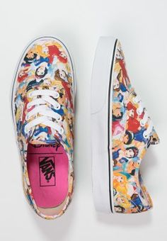 Vans AUTHENTIC - Trainers - disney multi princess - Zalando.co.uk Converse  Tennis a98d7d5c2