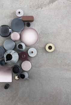 Cemcrete shows you how to merge decorative cement finishes with Pantone 2016 colours. Rose Quartz and Serenity. Colour Schemes, Color Patterns, Color Combinations, Interior Pastel, Pale Dogwood, Pretty Things, Mode Editorials, Deco Design, Color Stories