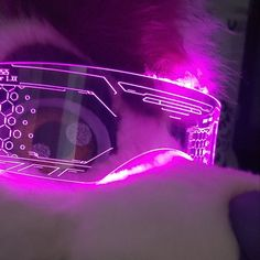The original Illuminated Cyberpunk Cyber goth visor Iron Man Cyberpunk Rpg, Cyberpunk Aesthetic, Neon Azul, Robot Technology, Technology Gadgets, Halo Armor, Neon Noir, Robot Art, Robots