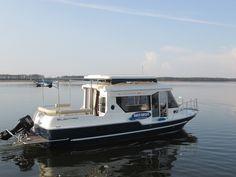 Sun Camper Hybrid Hausbootferien führerscheinfrei in Masuren