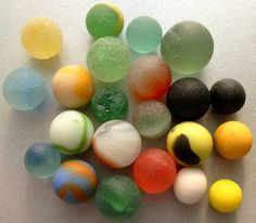 Identifying Sea Glass Marbles at the American Toy Marble Museum! Erie Beach, Marbles Images, Glass Marbles, Sea Glass, Museum, Colorful, Awesome, Board, Collection