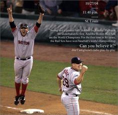 Red Sox win 2004 World Series Boston Sports, Boston Red Sox, Red Sox Baseball, Boston Baseball, Red Sox Nation, Boston Strong, Go Red, Boston Celtics, World Series
