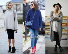 Tem quem ame e tem quem odeie, mas a tendência de peças oversized - aquelas que são maiores e mais largas - sem dúvidas é uma das favoritas das fashion girls, além de super confortável e perfeita para o inverno. Jaquetas, tricôs, acessó