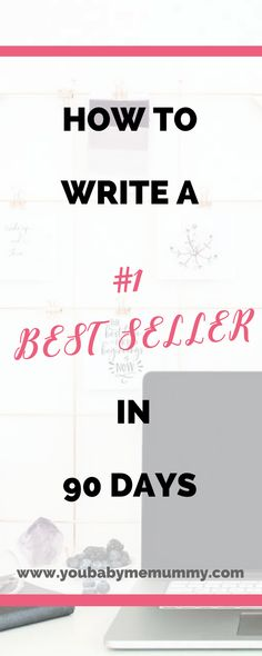 Are you looking to write a book but don't know where to start? How To Write A #1 Best Seller In 90 Days