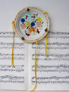 Make Homemade Musical Instruments with Children