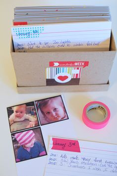 Creative ways to preserve memories for your kids. Find tips to make preserving your kids' treasures and artwork less overwhelming. They will thank you for preserving these memories! Family Memories, Making Memories, Memories Box, Project Life, Filofax, Idee Diy, All Family, Family Life, Life Organization