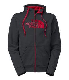 The North Face Men's Jackets & Vests FLEECE MEN'S SURGENT HALF DOME FULL ZIP HOODIE