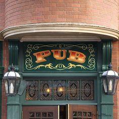 Basement Irish Pub Love The Black Cabinets And Using The