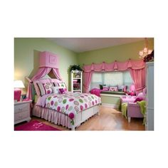 Girl bedroom ideas teenage girl bedroom decor with pink and purple Home Interior Design and Decorating Ideas found on Polyvore