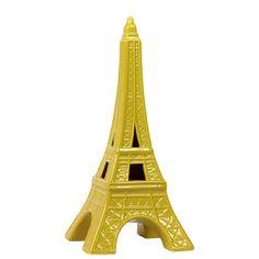Yellow Ceramic Eiffel Tower | Overstock.com