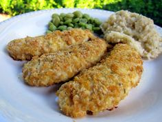 cornflake chicken fingers