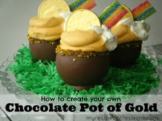 How To Create Your Own Chocolate Pot Of Gold