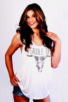 Saddle Up Tank - @Makayla Jennings Wowk I feel like you would appreciate this!;p