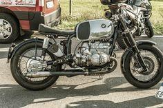 BMW cafe racer. Picture taken at Glemseck 101 bike meeting in Leonberg (near Stuttgart), September 2014.