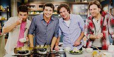 Homens #Gourmet é mais que um programa. É inspiração! Saiba mais sobre os chefs que comandam a atração no blog: http://montacasa.gudecor.com.br/blog/homens-gourmet/