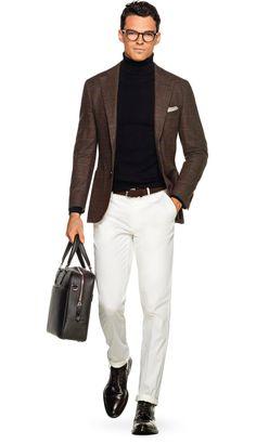 Jacket Brown Check Jort C1084i | Suitsupply Online Store