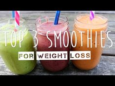 WEIGHT LOSS SMOOTHIE - YouTube
