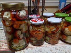 Murături Mason Jars, Recipes, Salads, Recipies, Mason Jar, Ripped Recipes, Cooking Recipes, Glass Jars, Jars