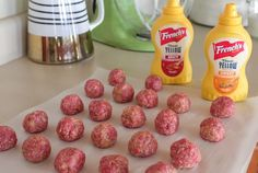 Check out this party meatball recipe made with a Sweet and Spicy Mustard Cream Sauce. From @jennyflake #FrenchsSweetAndSpicy