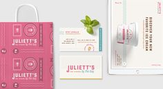 Concept: Juliett's Ice Cream — The Dieline - Branding & Packaging Design