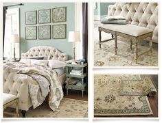 Ballard Designs  |  Marlow Bedroom